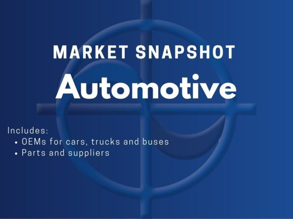 CAE Market Snapshot - Automotive