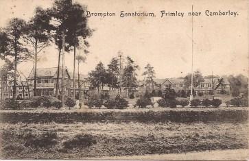 Brompton Hosp postcard
