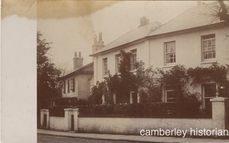 Frimley postcards 1