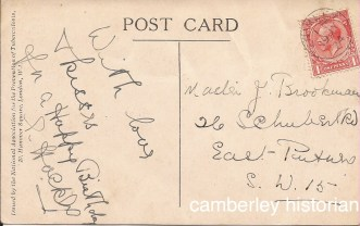 Camberley postcard March 2015 3