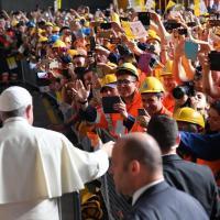 Papa Francesco: Il discorso sul lavoro all'Ilva di Genova
