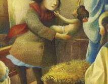 Ángela y el niño Jesús