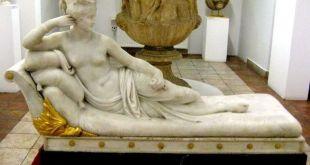 Paulina Bonaparte tallada por Antonio Canova