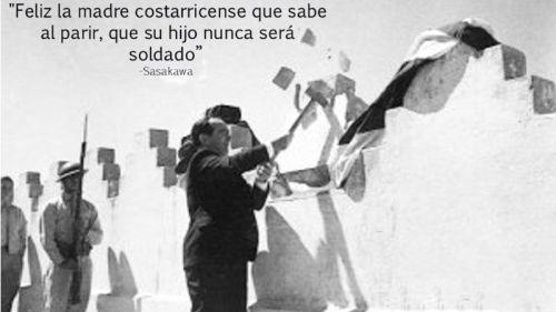 Conmemoran 67 años de la Abolición del Ejército