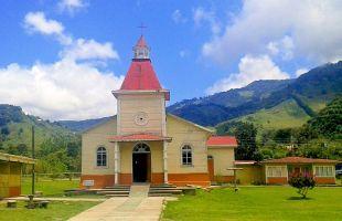 Se quemó el más bello y antiguo tesoro arquitectónico de la Zona de los Santos