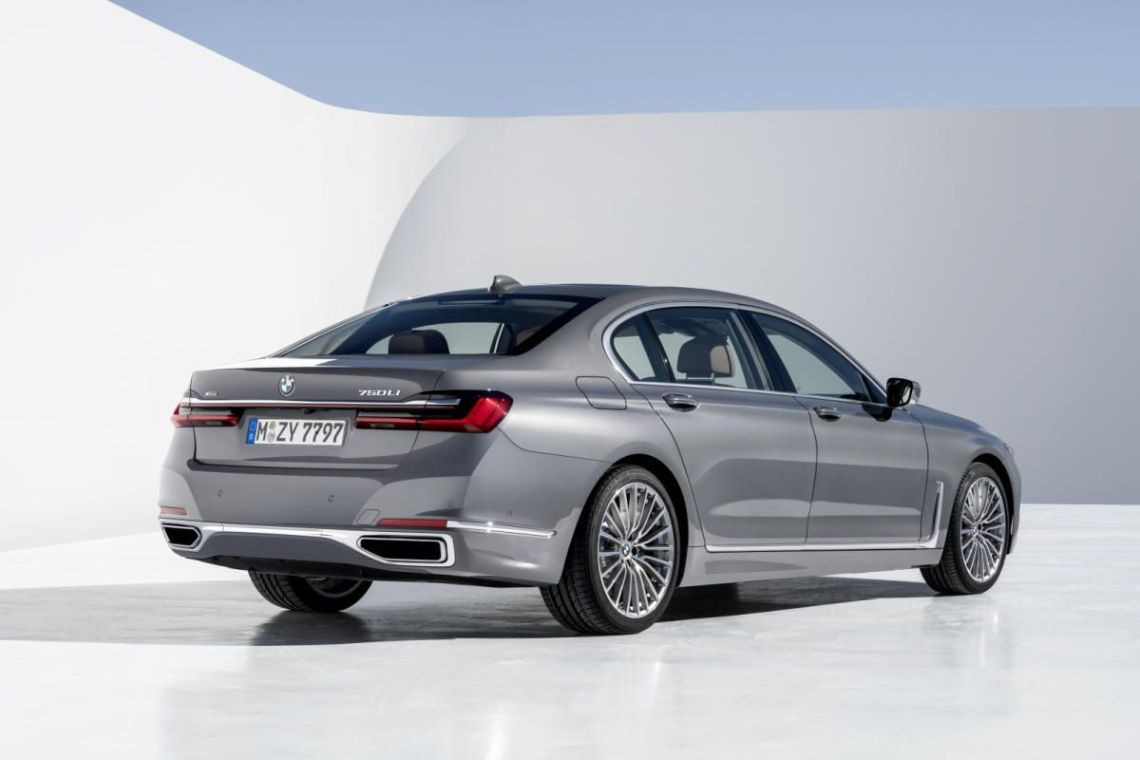 BMW SERIE 7 2019 TRASERA LATERAL