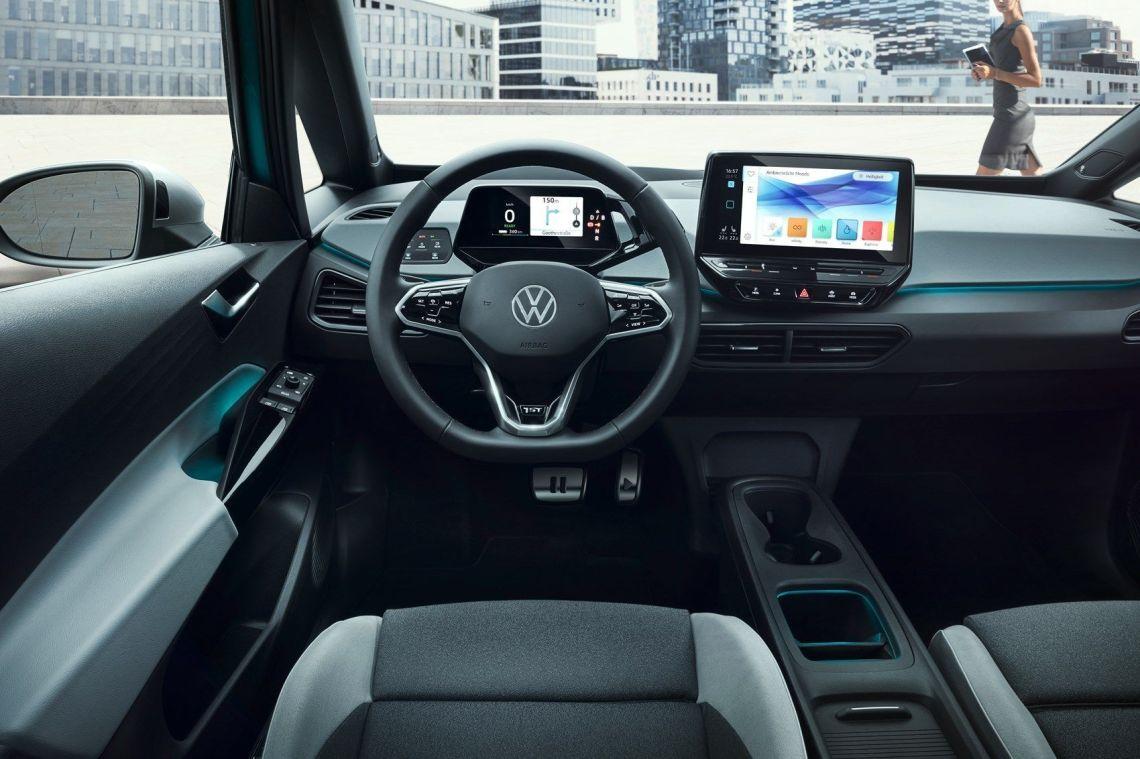 VW ID3 INTERIOR DELANTERA