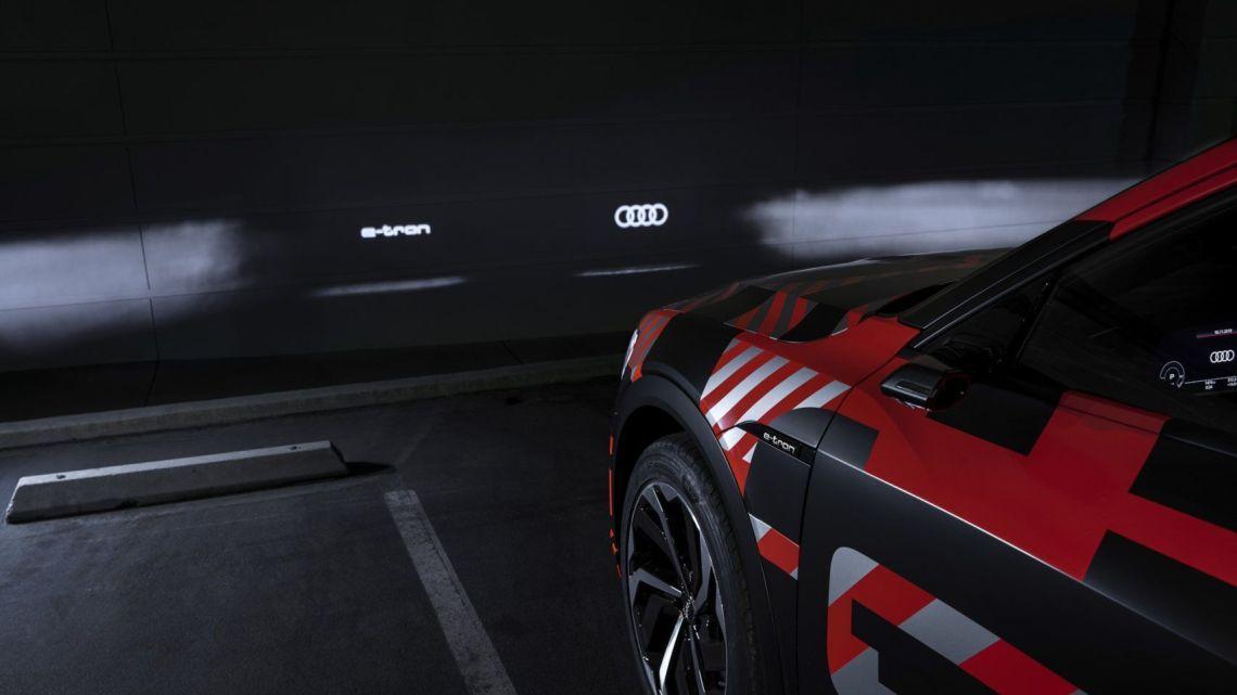 faros de proyección dml e-tron sportback