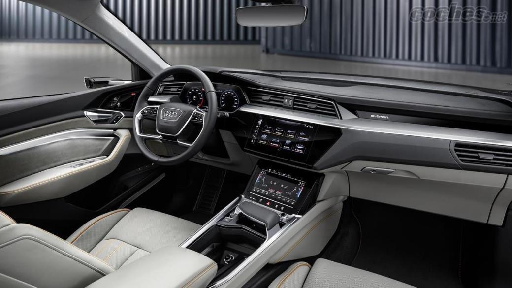 Interior Audi e-tron Sportback