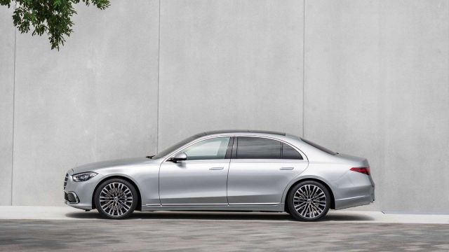 MERCEDES-BENZ CLASE S LATERAL