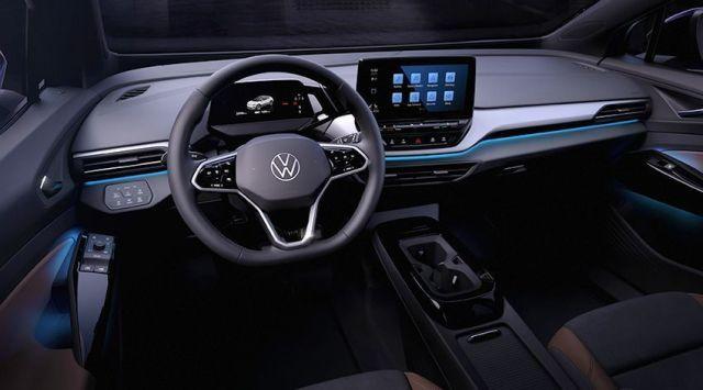VW ID-4 INTERIOR COCKPIT
