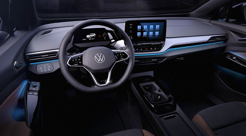 VW ID-4 INTERIOR COCKPIT
