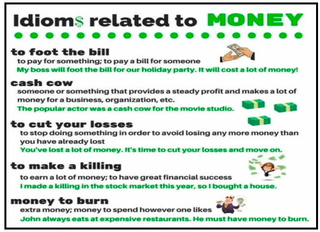 Lesson 10 Money Idioms Cambly Content