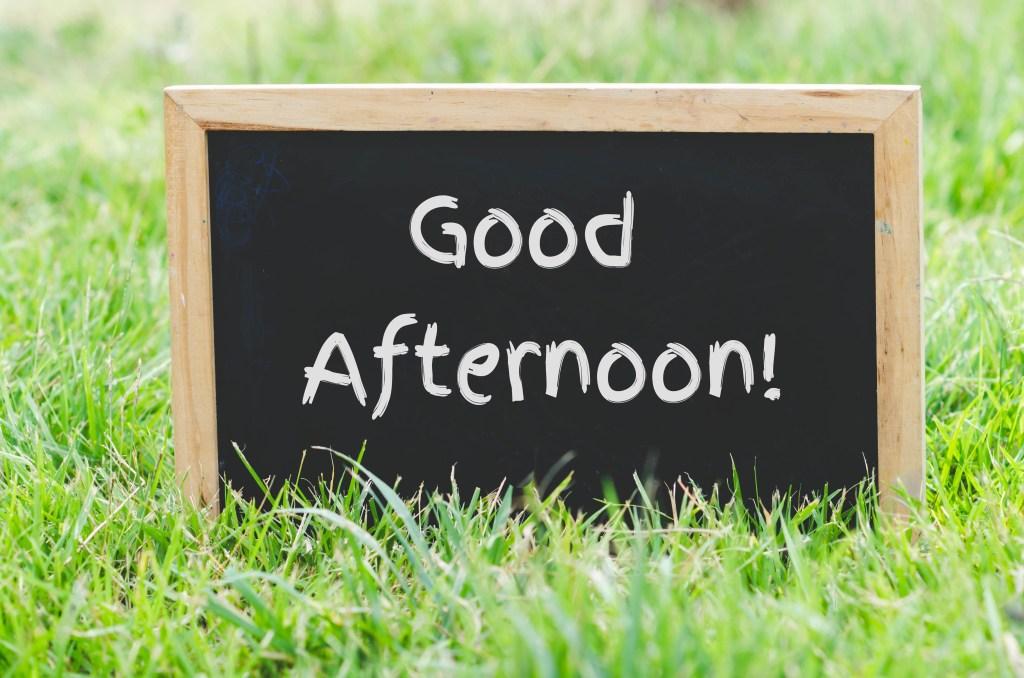 periodos del día en inglés - aprenda en cambly - good afternoon