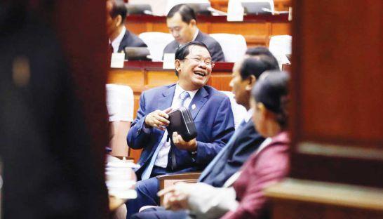 Hun Sen à l'AN 2