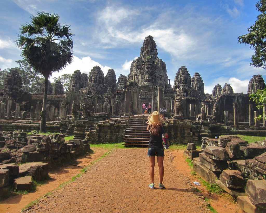 Bayon Temple (ប្រាសាទបាយ័ន, Prasat Bayon), Siem Reap