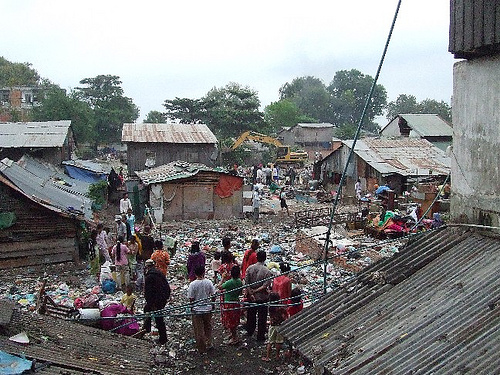 The Dey Krahom Community on 24.1.2009