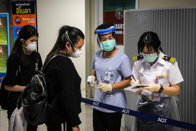 Thai immigration officers at Bangkok airport diagnosed with COVID-19 |  Cambodianess
