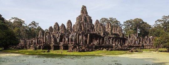 Bayon Temple - Angkor Thom, Siem Reap, Cambodja