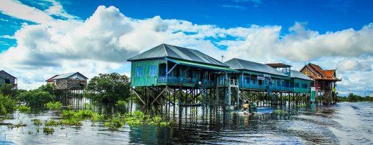 Kampong Phluk Village - Tonle Sap Lake, Siem Reap, Cambodja