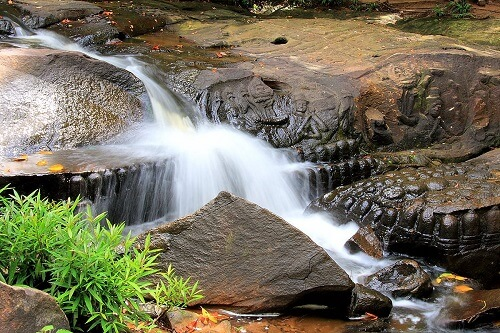 Kbal Spean Waterval - Siem Reap, Cambodja