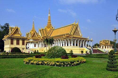 Koninklijk Paleis - Phnom Penh, Cambodja