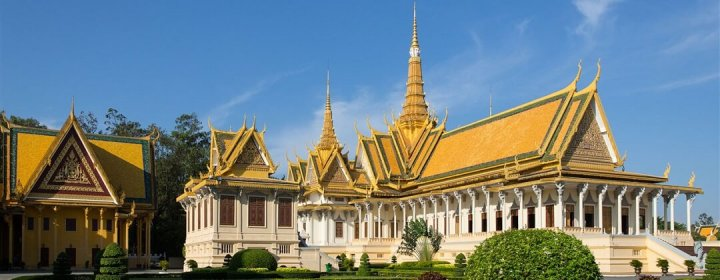 Throne Hall – Royal Palace, Phnom Penh
