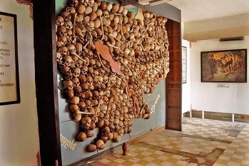 Tuol Sleng Genocide Museum - Phnom Penh, Cambodja