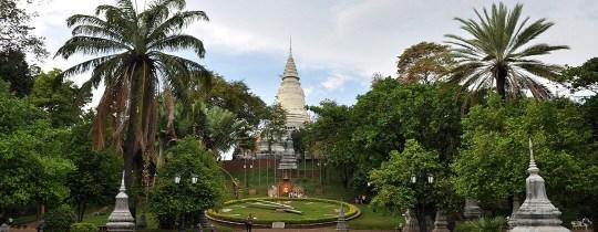 Wat Phnom - Phnom Penh, Cambodja