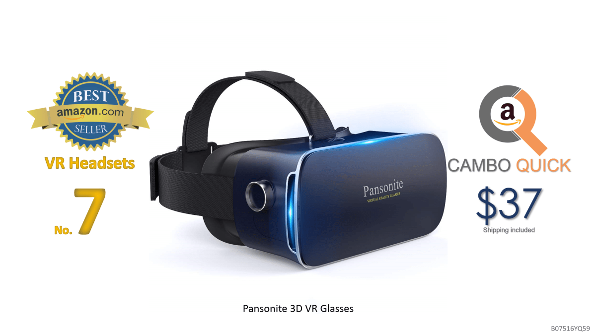 Pansonite 3D VR Glasses Virtual Reality Headset for Games & 3D Movies, Upgraded & Lightweight with Adjustable Pupil and Object Distance for iOS and Android.png