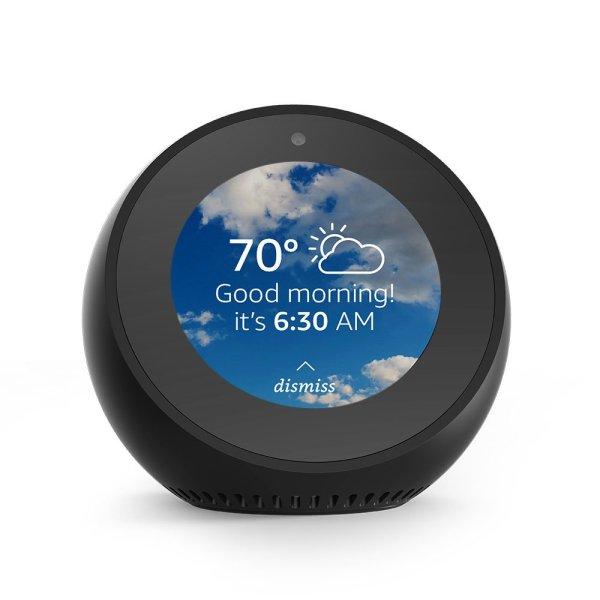 Echo Spot – Smart Alarm Clock with Alexa