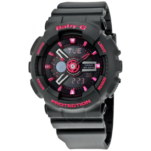 CASIO Baby-G Analog-Digital BA-111-1ACR