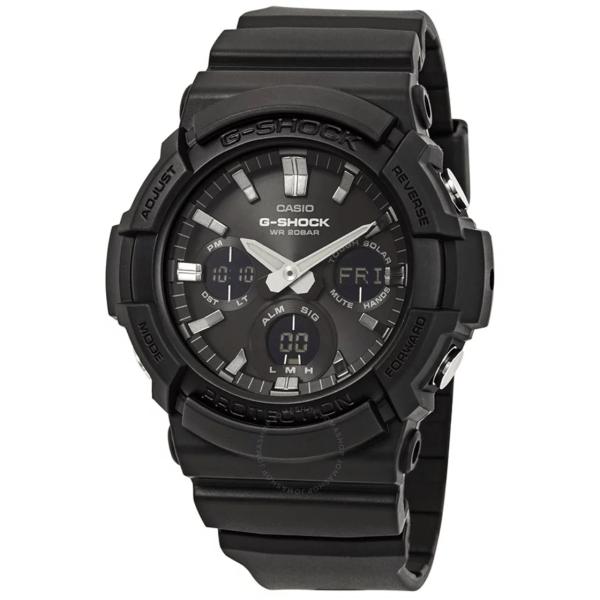 CASIO G-Shock Alarm World Time Black Dial GAS-100B-1ACR