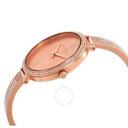 MICHAEL KORS Jaryn Crystal Rose Gold Dial Ladies Watch MK3785