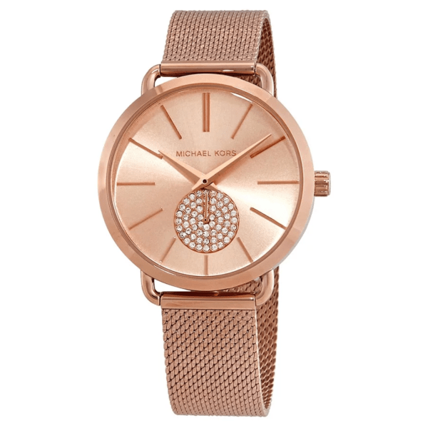 MICHAEL KORS Porita Rose Dial Ladies Watch MK3845