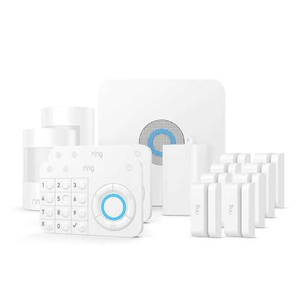 Ring Alarm – Home Security System with optional 24/7 Professional Monitoring – No contracts – 14 pieces kit – Works with Alexa