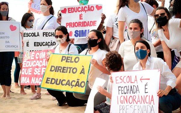 Balneário Camboriú volta para a faixa amarela: escolas devem reabrir na próxima semana
