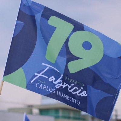 Bairro dos Municípios terá Bandeiraço e Adesivaço dos candidatos Fabrício e Carlos Humberto neste sábado