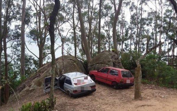 Quatro carros furtados, sem as rodas, serão devolvidos aos donos em Balneário