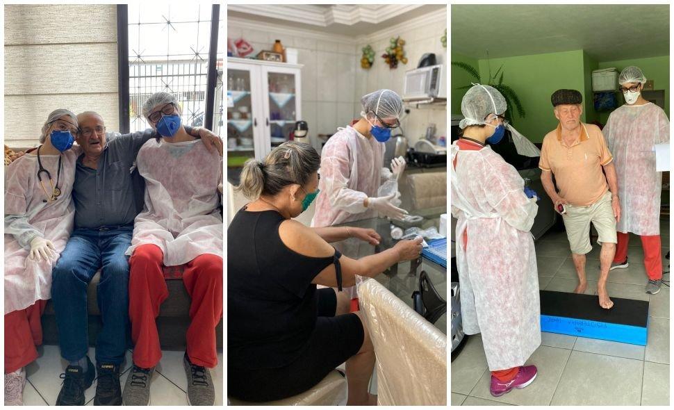 Programa Fisioterapia para Idosos pós Covid de Balneário Camboriú realizou 148 atendimentos em um mês