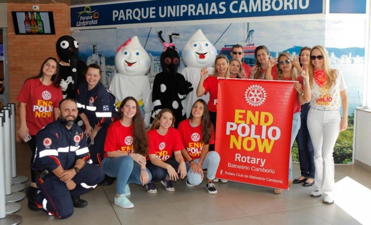 Rotary Clubs do Brasil promovem evento virtual para ajudar no combate à paralisia infantil