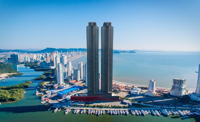 Edifício em Balneário Camboriú é o único empreendimento brasileiro a receber o prêmio de Arquitetura Americana 2020