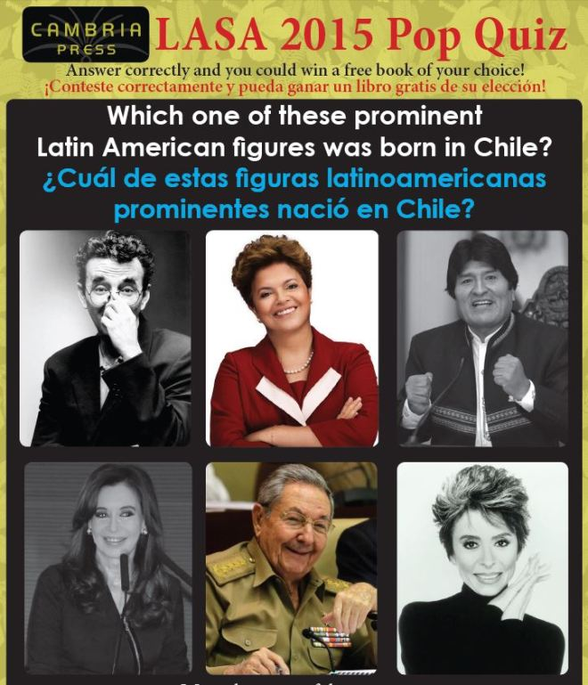 #LASA2015 Cambria Press Latin American Studies LatAm