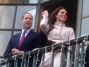 Duk and Duchess of Cambridge, Guildhall