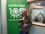 105 Drive with Julian Clover: Cambridge Bard Marion Leeper