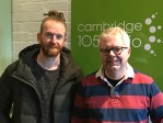Newton Faulkner on Drive with Julian Clover