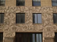 New York City, NY: 122 East 42nd Street: faade decoration