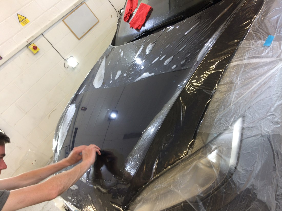 Tesla Xpel Ultimate Paint Film Protection PPF
