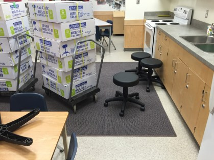 Learning lab seating