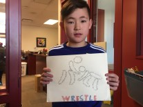 Ryan from Div. 6 shares his concrete poem.